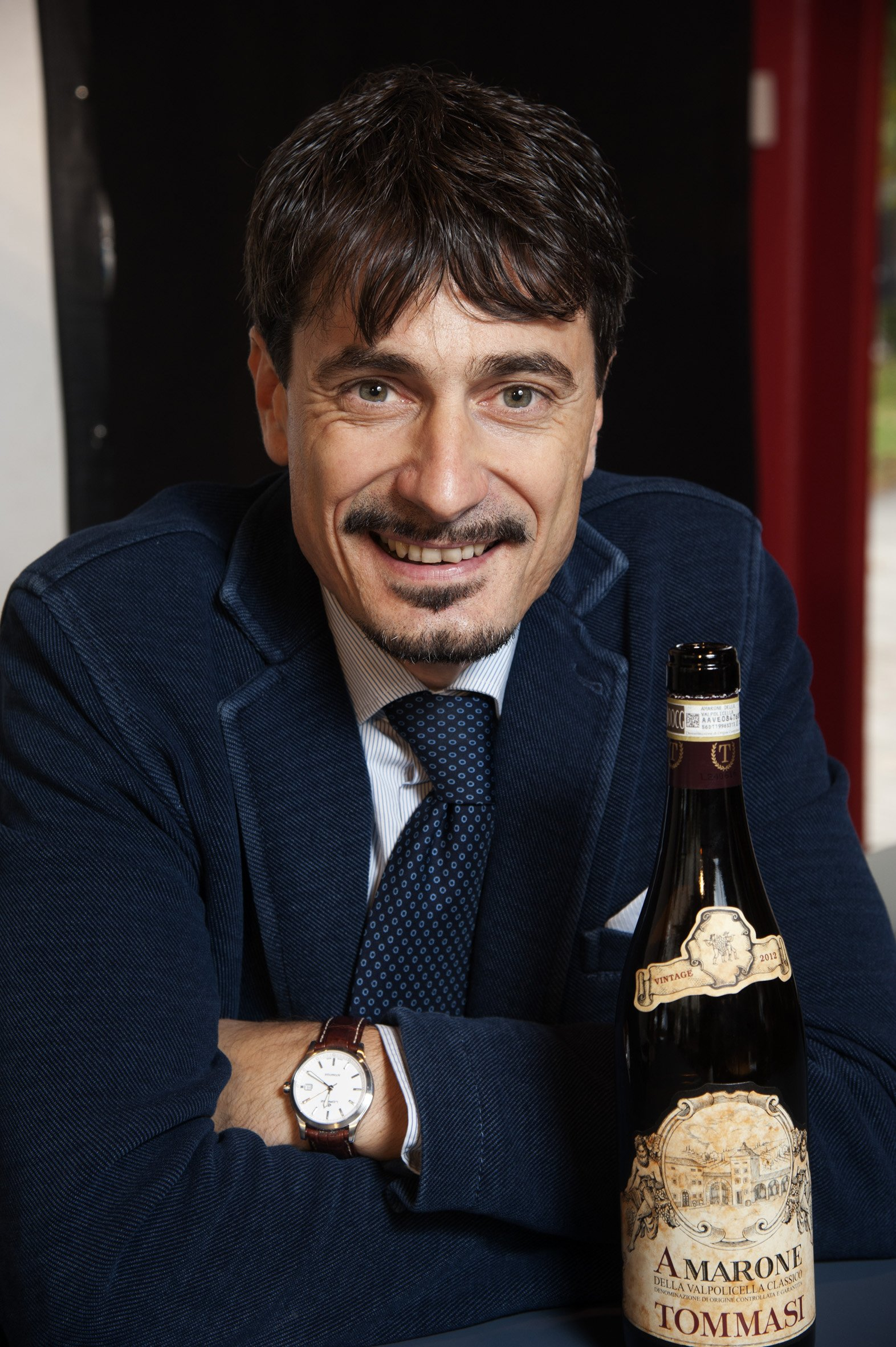 Famiglie dell'Amarone d'Arte in Stockholm 161014 Pierangelo Tommasi ©Photo:Claes Lofgren/winepictures.com